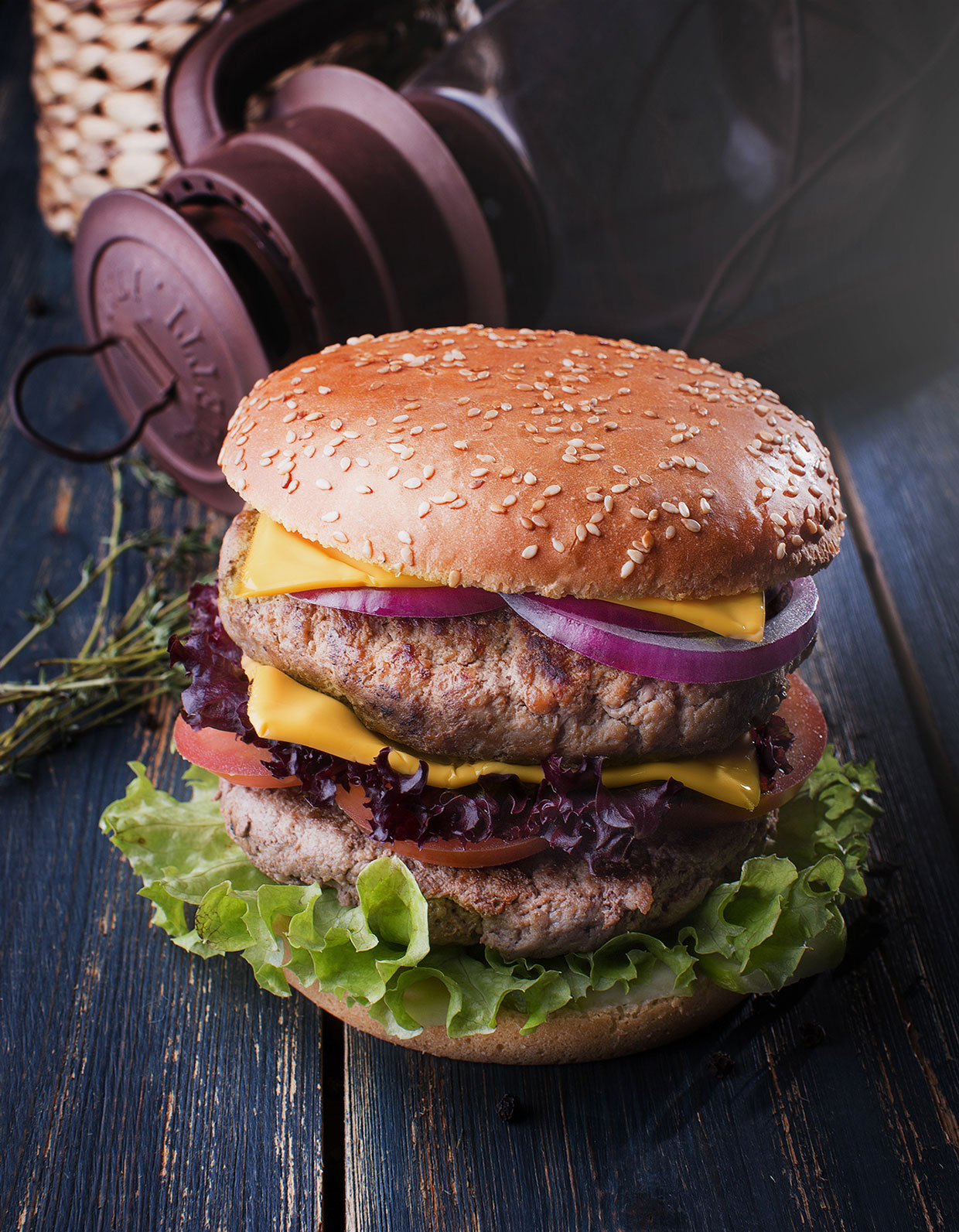 Truffel burger